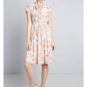 Prim With Pizzazz Midi Dress by ModCloth
